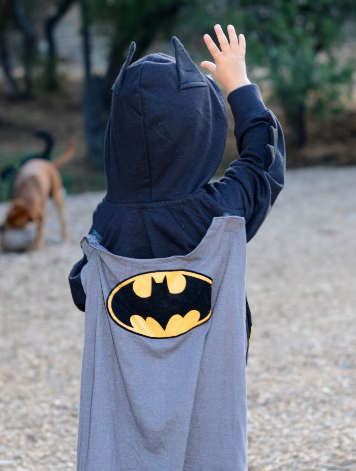 batman cape sweatshirt